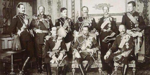 Albert Ier/Guillaume II, monarques ennemis de 14-18